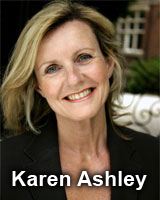 Hypnotherapist Karen Ashley Cheshire